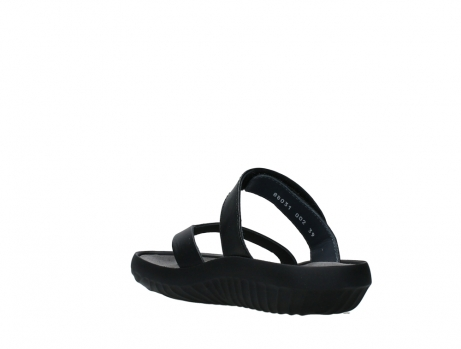 wolky slippers 00880 tahiti 31002 black leather_17