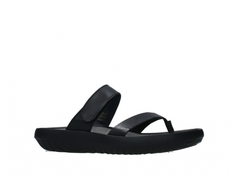 wolky slippers 00880 tahiti 31002 black leather_2