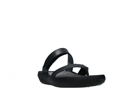 wolky slippers 00880 tahiti 31002 black leather_5