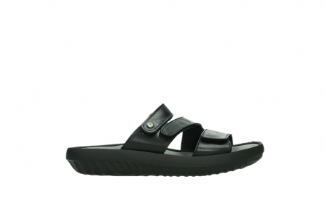 wolky slippers 00885 sense 31002 black leather_1