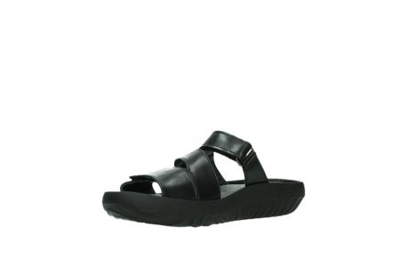 wolky slippers 00885 sense 31002 black leather_10