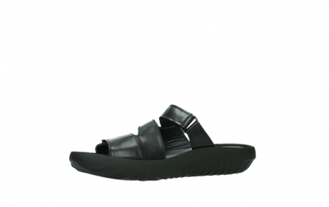 wolky slippers 00885 sense 31002 black leather_11