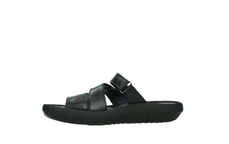 wolky slippers 00885 sense 31002 black leather_12