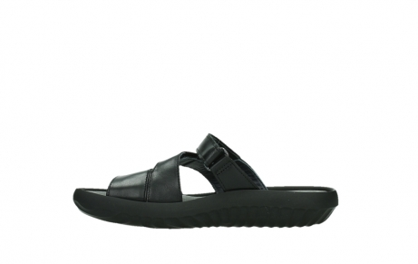 wolky slippers 00885 sense 31002 black leather_13
