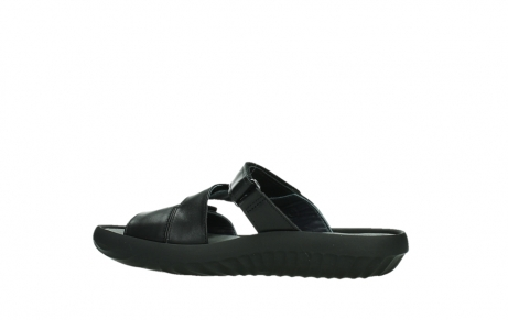 wolky slippers 00885 sense 31002 black leather_14