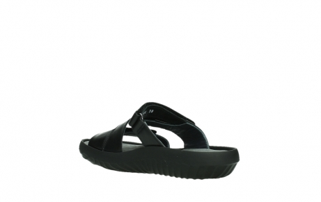wolky slippers 00885 sense 31002 black leather_16