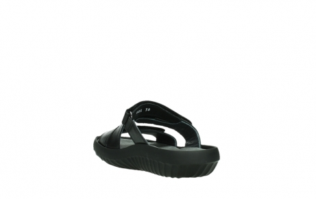 wolky slippers 00885 sense 31002 black leather_17