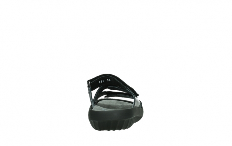 wolky slippers 00885 sense 31002 black leather_19