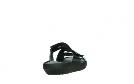 wolky slippers 00885 sense 31002 black leather_20