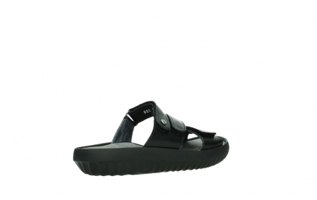 wolky slippers 00885 sense 31002 black leather_22
