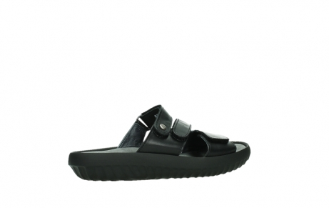 wolky slippers 00885 sense 31002 black leather_23