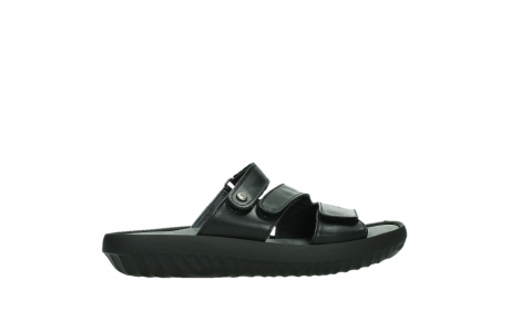 wolky slippers 00885 sense 31002 black leather_24