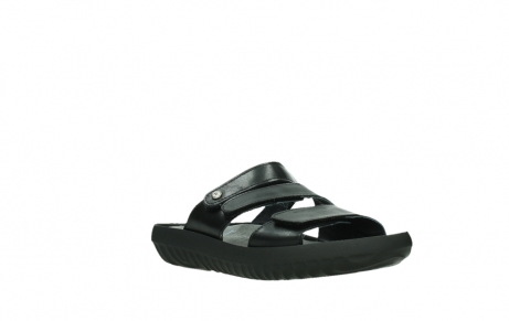 wolky slippers 00885 sense 31002 black leather_4