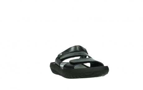 wolky slippers 00885 sense 31002 black leather_5