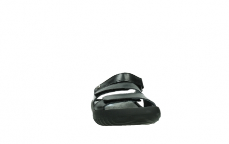 wolky slippers 00885 sense 31002 black leather_6