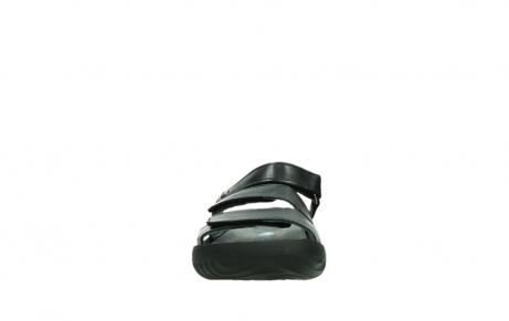 wolky slippers 00885 sense 31002 black leather_7