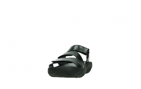 wolky slippers 00885 sense 31002 black leather_8