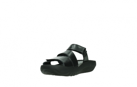 wolky slippers 00885 sense 31002 black leather_9