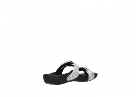 wolky slippers 01000 oconnor 70980 white multi color canal leather_10