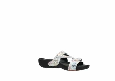 wolky slippers 01000 oconnor 70980 white multi color canal leather_15