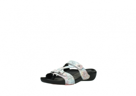 wolky slippers 01000 oconnor 70980 white multi color canal leather_22