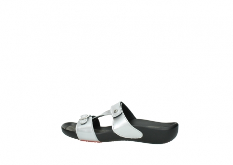 wolky slippers 01000 oconnor 80200 grey patent metallic leather_2