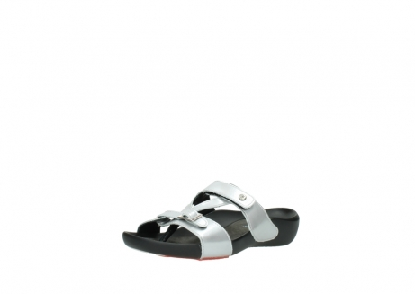 wolky slippers 01000 oconnor 80200 grey patent metallic leather_22