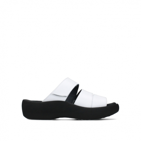 wolky slippers 03207 aporia 30100 white leather