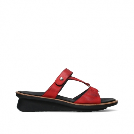 wolky slippers 03307 isa 21500 red leather