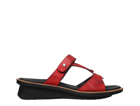 wolky slippers 03307 isa 21500 red leather_1