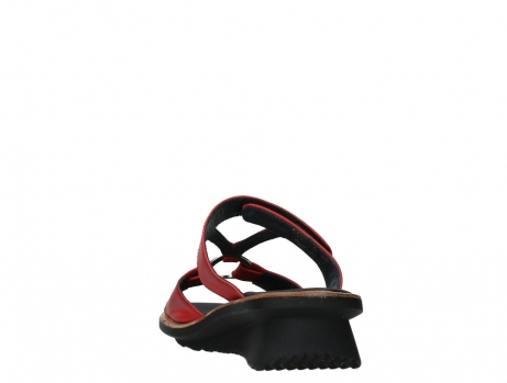 wolky slippers 03307 isa 21500 red leather_18