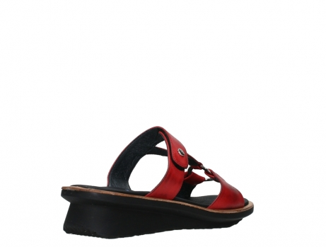 wolky slippers 03307 isa 21500 red leather_22