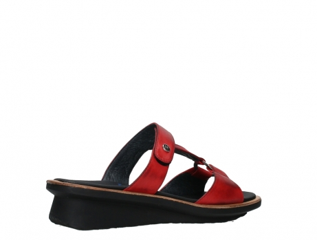 wolky slippers 03307 isa 21500 red leather_23