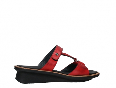 wolky slippers 03307 isa 21500 red leather_24