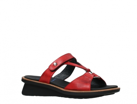 wolky slippers 03307 isa 21500 red leather_3