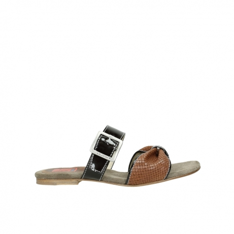 wolky slippers 04646 palm beach 60430 cognac leather