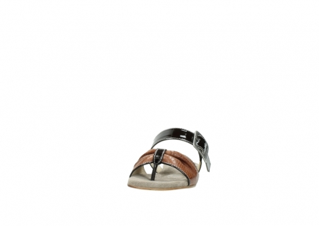 wolky slippers 04646 palm beach 60430 cognac leather_20