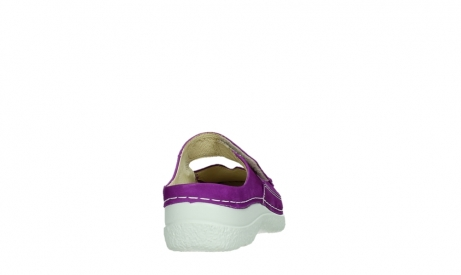 wolky slippers 06227 roll slipper 11605 dark pink nubuck_20