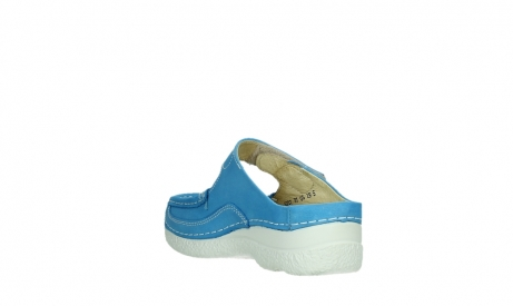wolky slippers 06227 roll slipper 11865 royal blue nubuck_17