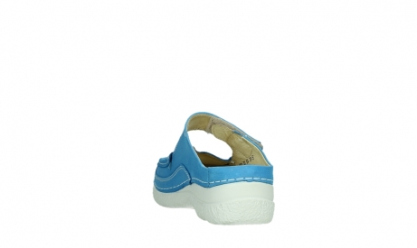 wolky slippers 06227 roll slipper 11865 royal blue nubuck_18