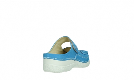 wolky slippers 06227 roll slipper 11865 royal blue nubuck_21