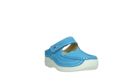 wolky slippers 06227 roll slipper 11865 royal blue nubuck_5