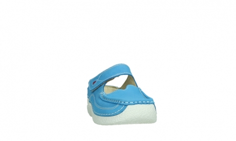 wolky slippers 06227 roll slipper 11865 royal blue nubuck_6