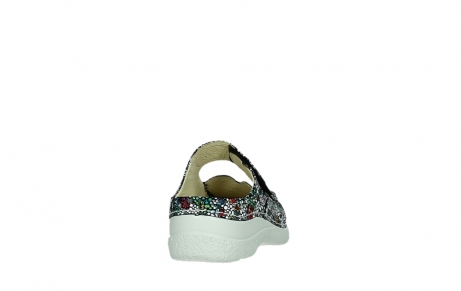 wolky slippers 06227 roll slipper 42070 black mosaic suede_20