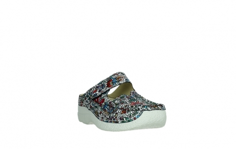 wolky slippers 06227 roll slipper 42070 black mosaic suede_5