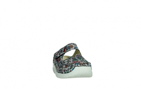 wolky slippers 06227 roll slipper 42070 black mosaic suede_6