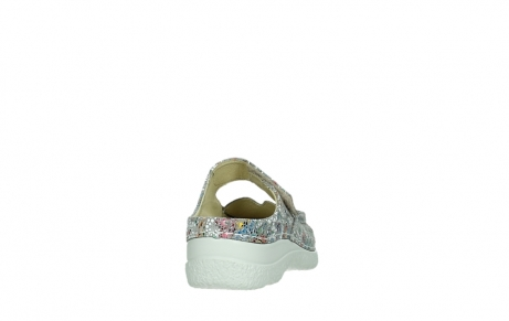 wolky slippers 06227 roll slipper 42157 taupe mosaic suede_20