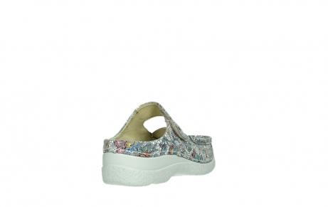 wolky slippers 06227 roll slipper 42157 taupe mosaic suede_21