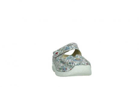 wolky slippers 06227 roll slipper 42157 taupe mosaic suede_6