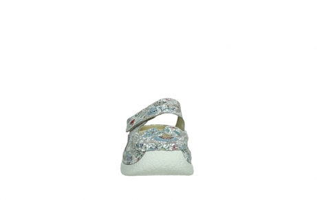 wolky slippers 06227 roll slipper 42157 taupe mosaic suede_7
